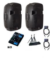 Pack sonorisation X-tone Bundle Sms-12a Lite