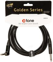 Câble X-tone X3058-3M Instrument Cable Right/Angled 3m