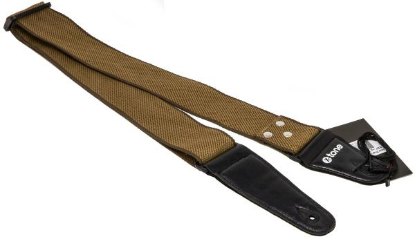 Sangle courroie X-tone XG 3108 Cotton Guitar Strap - Khaki