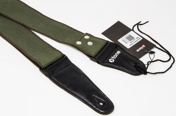 Courroie sangle X-tone XG 3109 Cotton Guitar Strap - Green