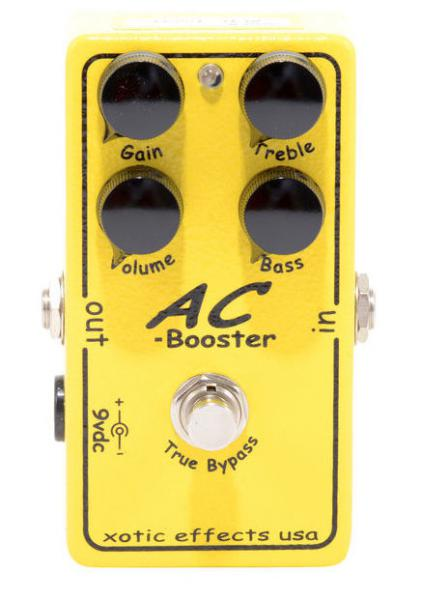 Pédale overdrive / distortion / fuzz Xotic AC Booster