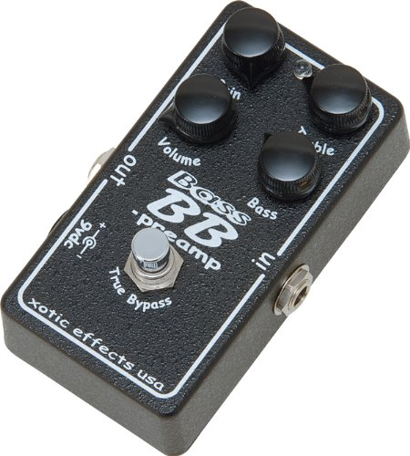 Pédale overdrive / distortion / fuzz Xotic Bass BB Preamp