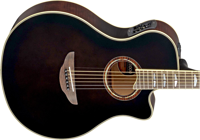 Guitare folk & electro Yamaha APX1000 - mocha black