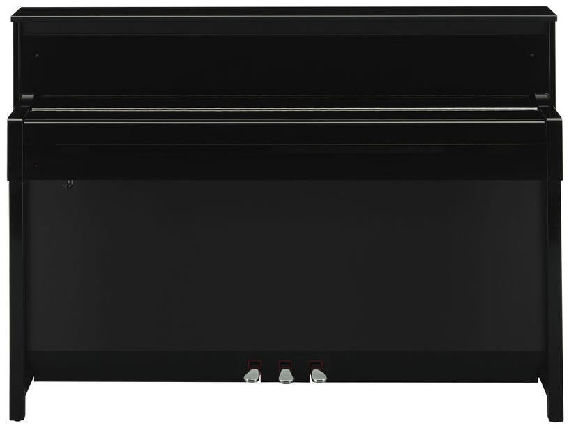 yamaha clp 585 polished ebony livr chez vous avec star 39 s music. Black Bedroom Furniture Sets. Home Design Ideas