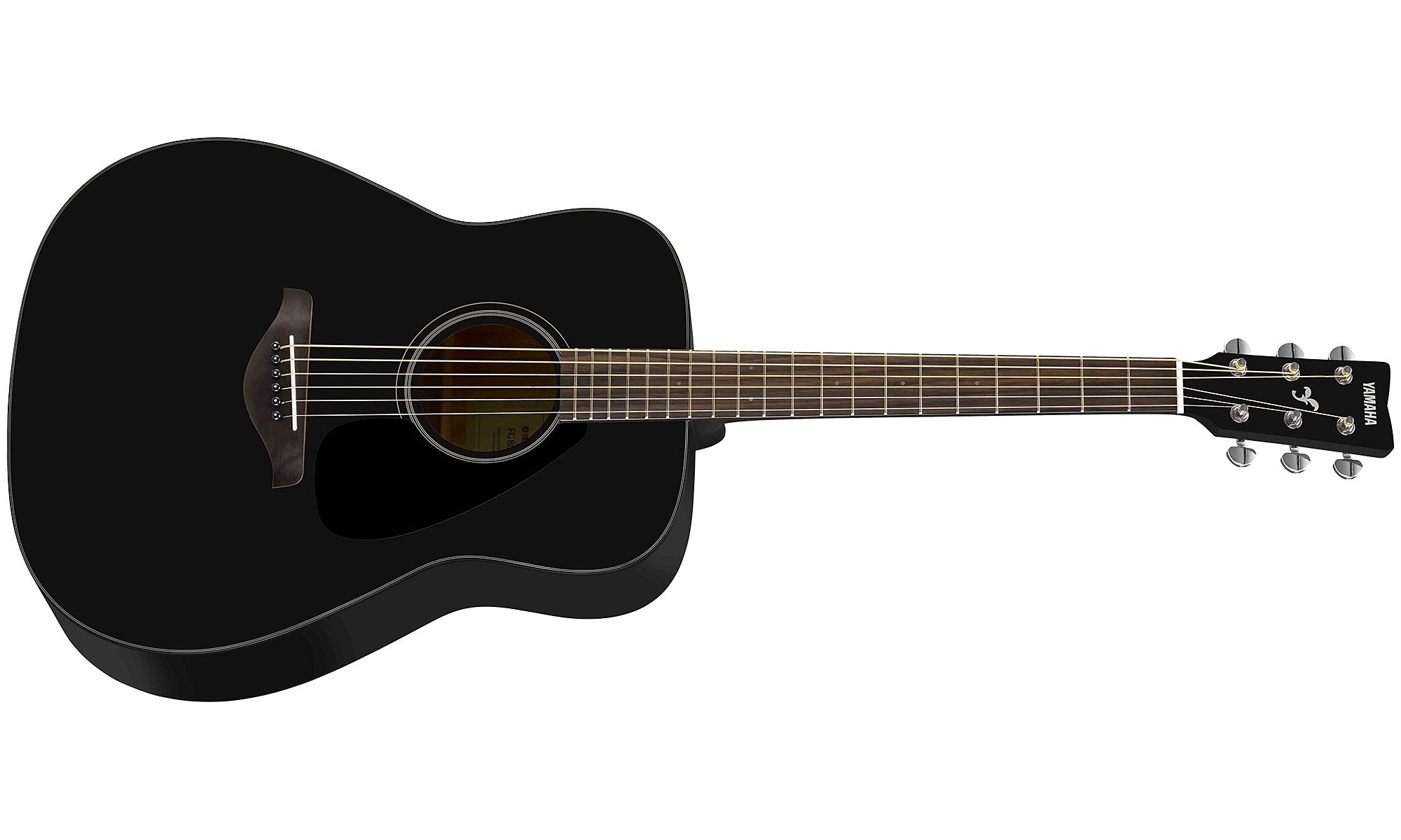 Guitare folk Yamaha FG800 BL - black gloss - Star's Music