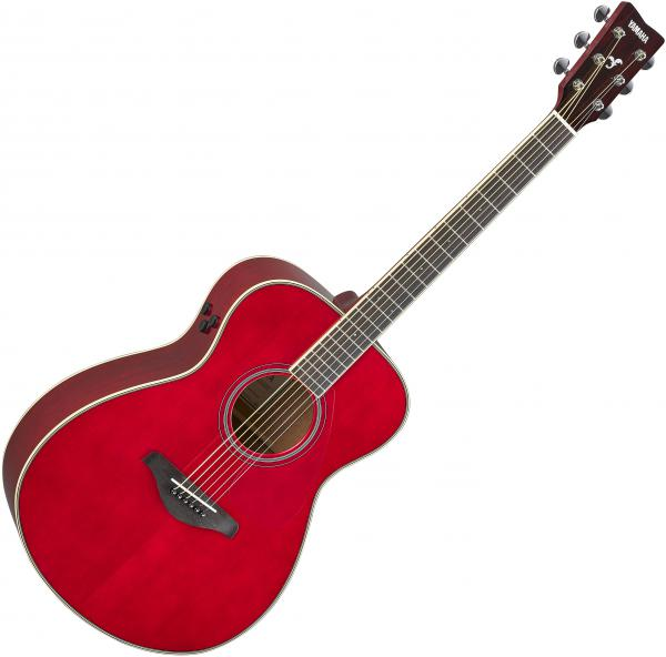 Guitare folk & electro Yamaha FS-TA Transacoustic - Ruby red