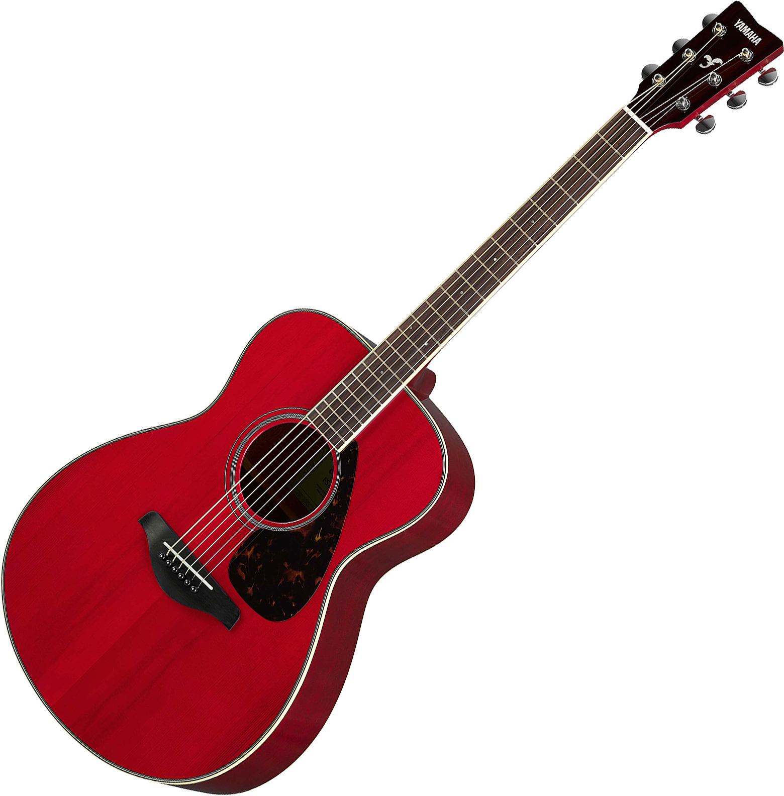 Guitare folk & electro Yamaha FS820 RR - ruby red gloss