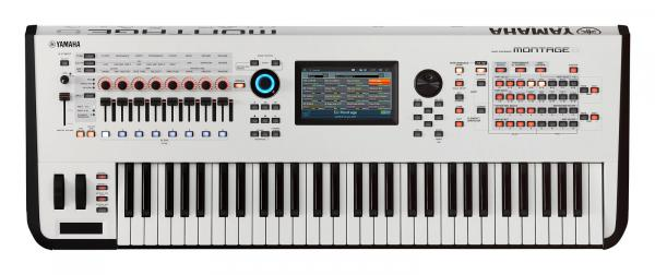 Synthétiseur Yamaha MONTAGE 6 WHITE