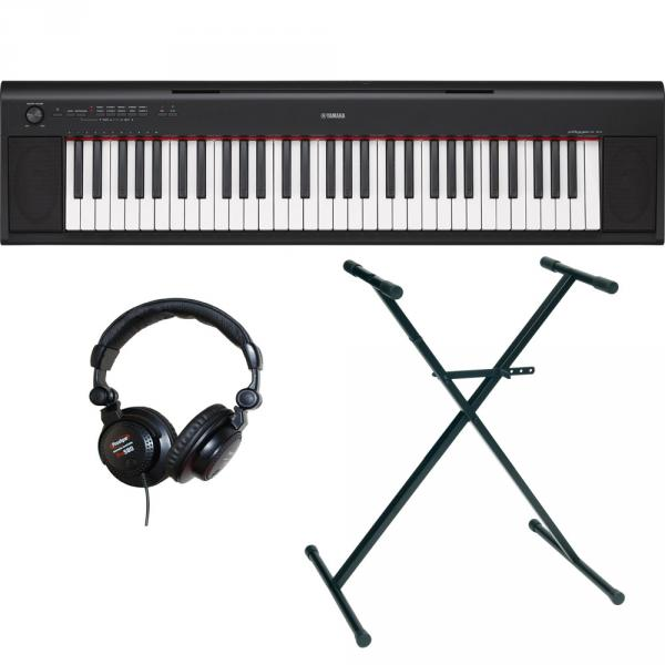 Pack clavier Yamaha NP-12B + stand + casque
