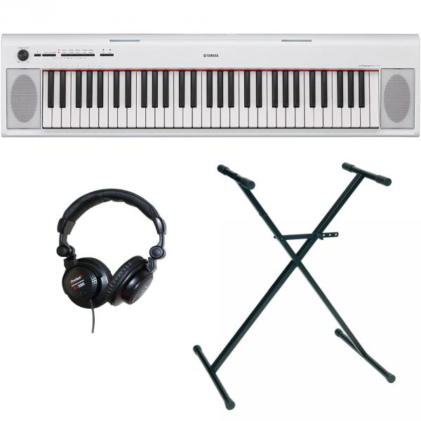 Pack clavier Yamaha NP-12WH + stand + casque