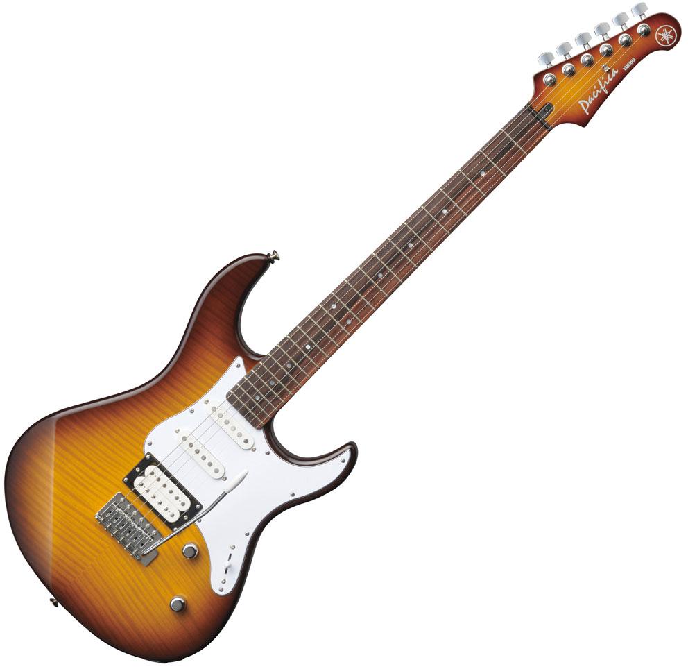 Guitare électrique solid body Yamaha Pacifica 212VFM ...