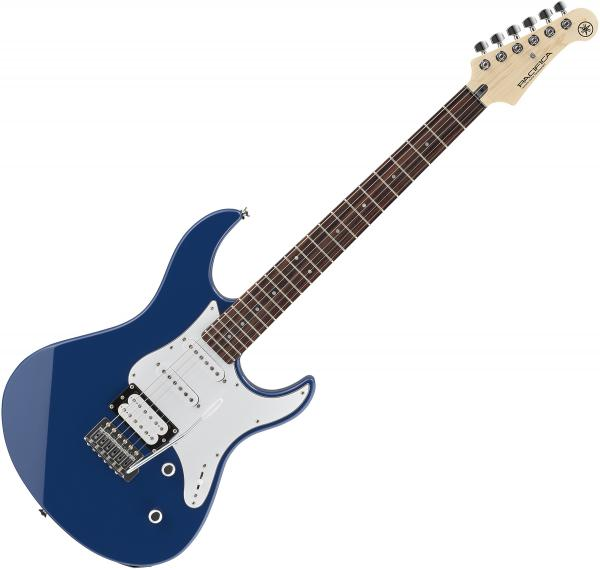 Guitare électrique solid body Yamaha Pacifica PAC112V - United blue