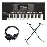 Pack clavier synthétiseur Yamaha PSR-A3000 + Casque+ Stand