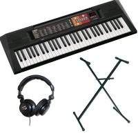 Pack clavier synthétiseur Yamaha PSR-F51 + Stand + Casque