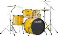 Batterie acoustique stage Yamaha Rydeen Stage 22 + Cymbales - 4 fûts - Mellow yellow
