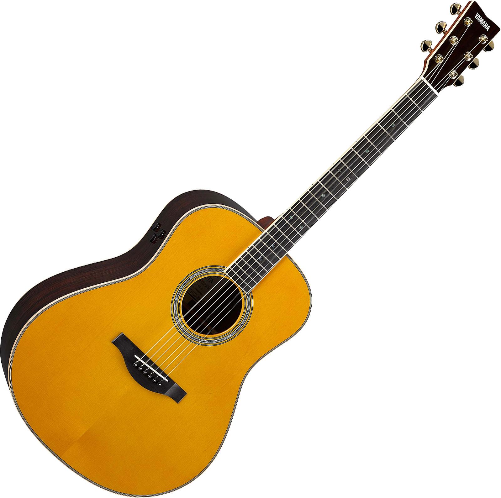 Guitare folk Yamaha Transacoustic LL-TA - vintage tint ...