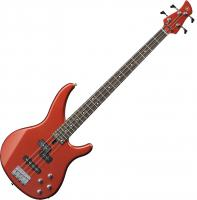 Basse électrique solid body Yamaha TRBX204 BRM - Bright red metallic