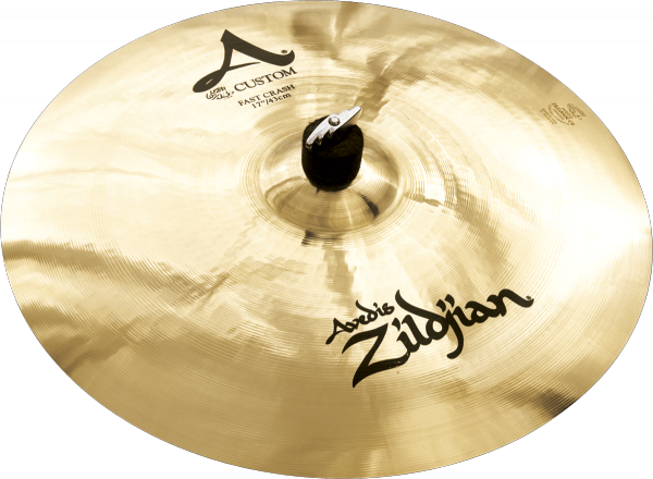 Cymbale crash Zildjian Avedis Custom Fast Crash - 17 pouces