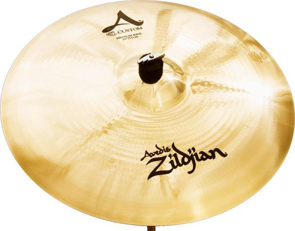 Cymbale ride Zildjian A' Custom Medium Ride 20