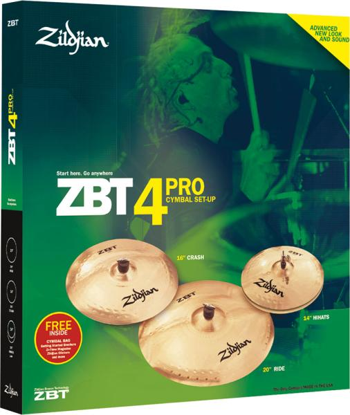 zildjian zbt set pro 4 zbc4p crash 18 livr chez vous avec star 39 s music. Black Bedroom Furniture Sets. Home Design Ideas