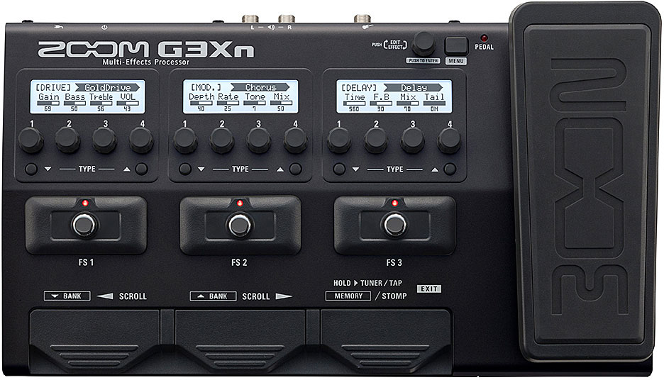 G3Xn Guitar Multi effects (Expression Pedal)