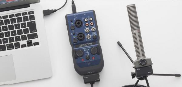 Interface audio Zoom U-44